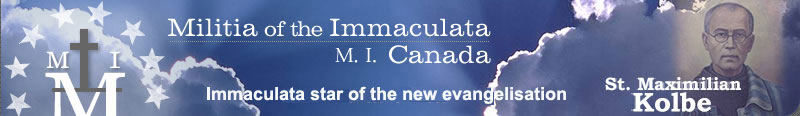 Militia of the Immaculata: M.I. Canada – Consecration.ca