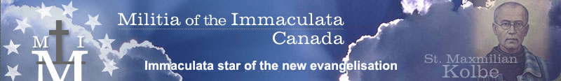 Militia of the Immaculata Canada – Consecration.ca