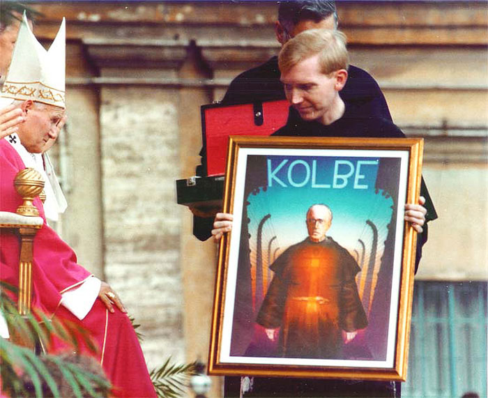 Canonization of Maximilian Mary Kolbe
