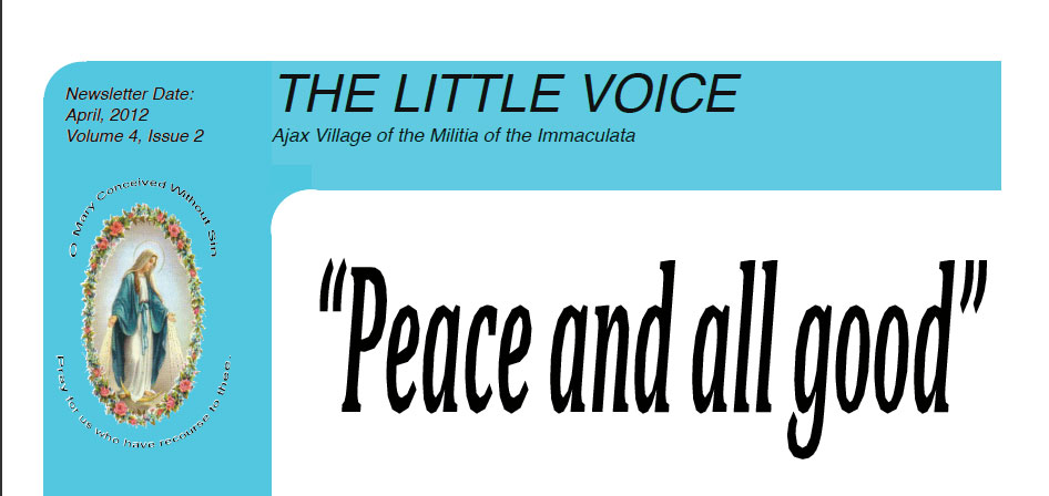 The Little Voice Newsletter